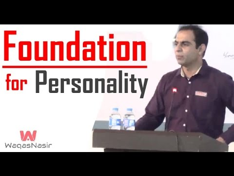 The Foundations Of Personality -By Qasim Ali Shah   In Urdu