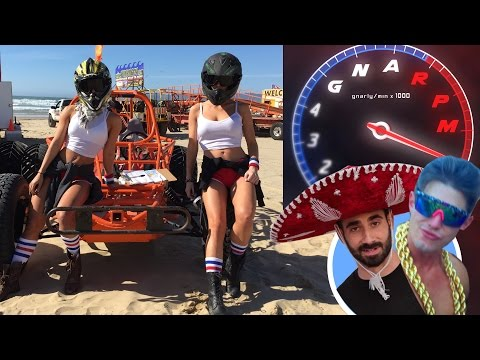 Guys vs. Girls Dune Buggy Challenge   GNARPM ep.3