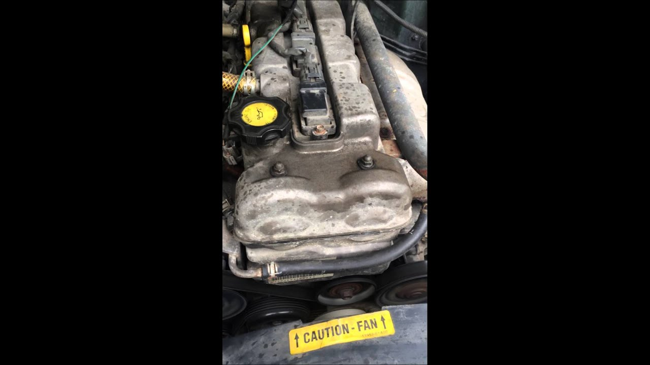 2002 Chevy Tracker 2 0 Engine Noise