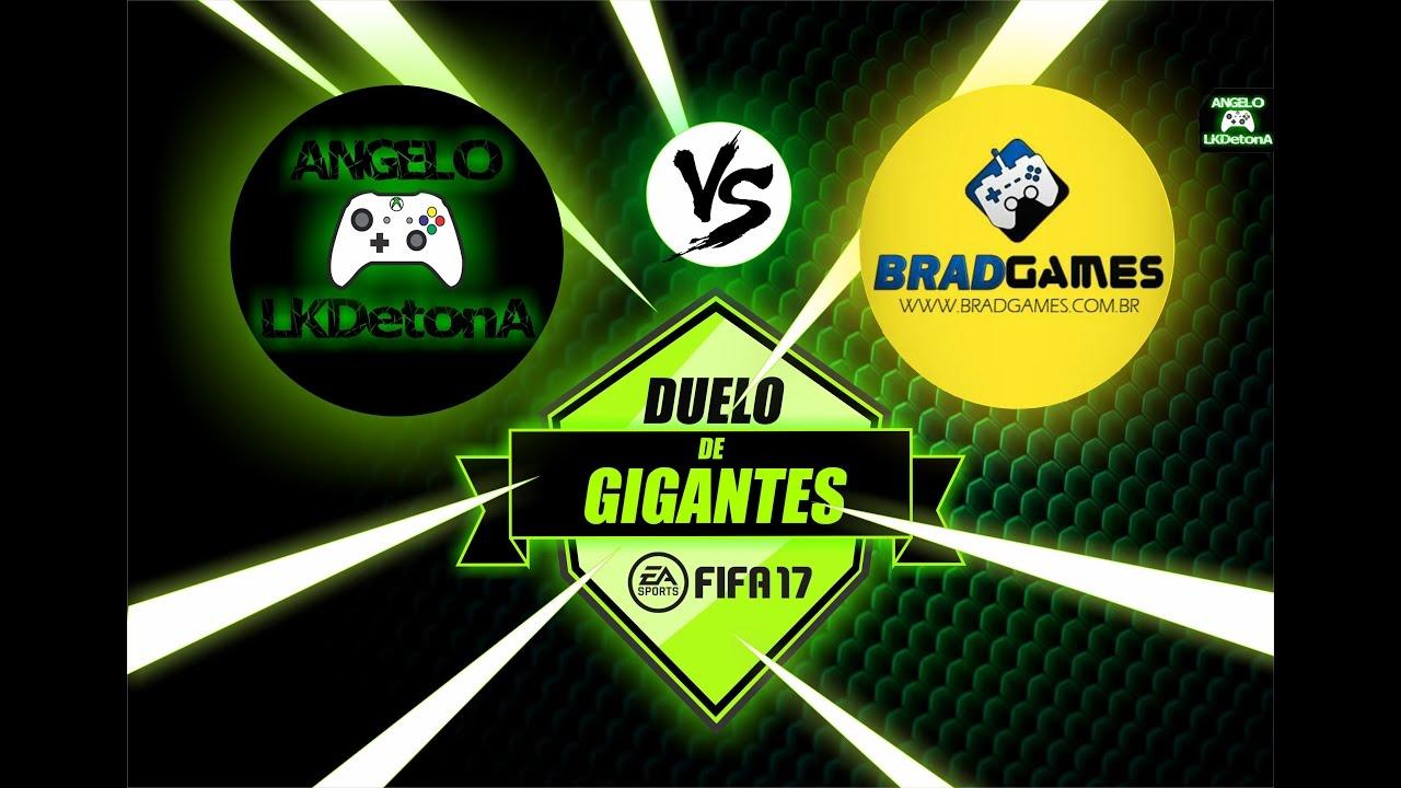 Download FIFA 17 - ULTIMATE TEAM / DUELO DE GIGANTES - ANGELOLKDETONA X BRADGAMES