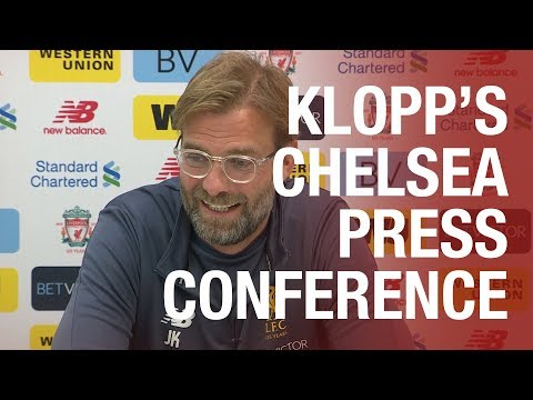 Jürgen Klopp's Chelsea press conference from Melwood | Salah