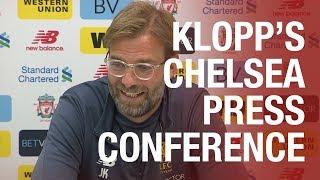 Jürgen Klopp's Chelsea press conference from Melwood | Salah, Emre and Matip updates
