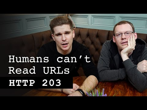 Humans can't read URLs. How can we fix it? - HTTP 203