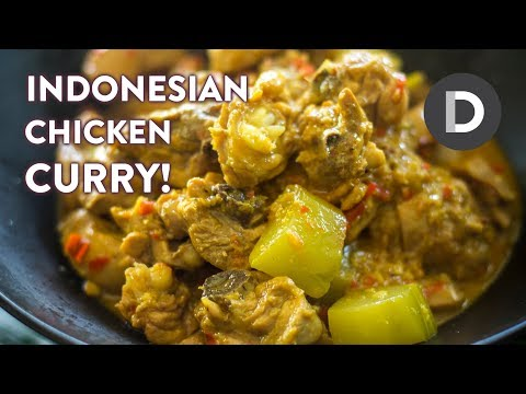 Indonesian Chicken Curry!
