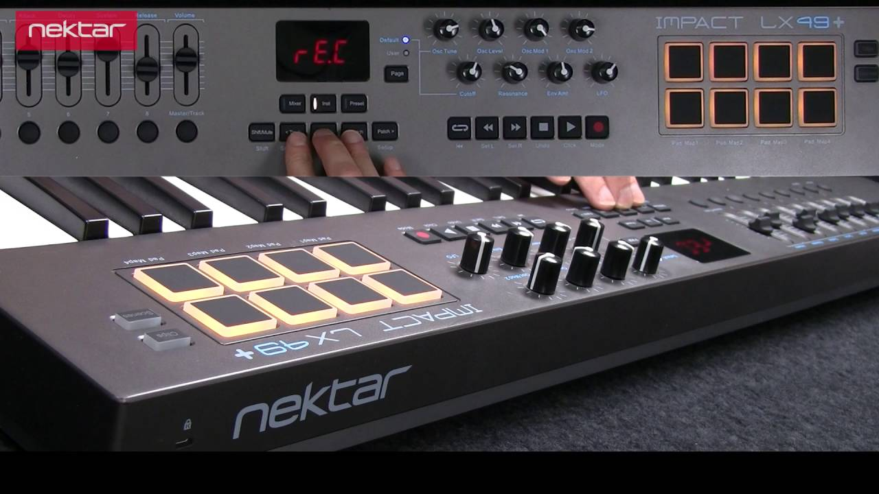 MIDI Controller Keyboard |Cubase| | Nektar Technology, Inc