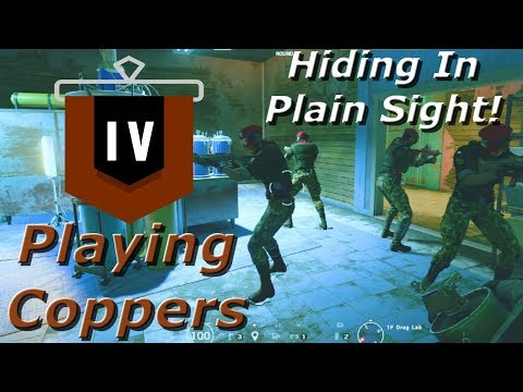 Hiding With Alibi! Road To Copper - Rainbow Six Siege Funny Moments