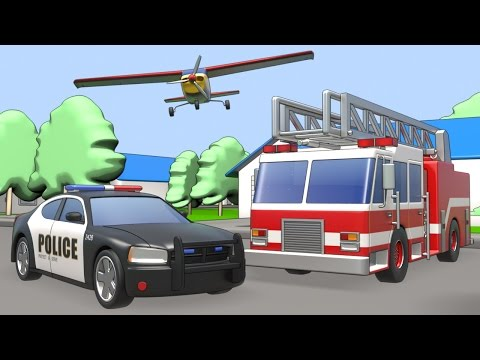 Transport vehicles name and sound - Kids Learning