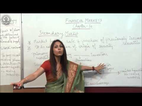 Introduction of Secondary Market and difference between Primary and Secondary Market Class XII Busi