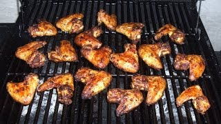 Easy Grilled Chicken Wings