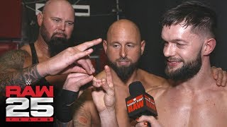 The Bálor Club reflect on sharing the ring with D-Generation X: Raw 25 Fallout, Jan. 22, 2018