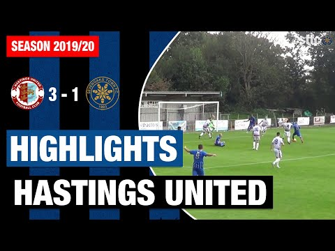Highlights: Hastings United FC Vs Sevenoaks Town FC
