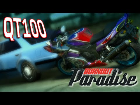 QT100: Burnout Paradise Bikes - Part 1 - No Control