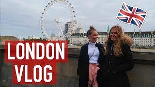 ALLEINE IN LONDON MIT MEINER BESTEN FREUNDIN / ENGLAND TRAVEL VLOG🇬🇧