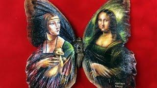 Artist Uses Butterflies as Canvas