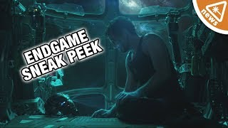 Russo Bros. Tease Iron Man's Fate in Exclusive Endgame Footage! (Nerdist News w/ Jessica Chobot)