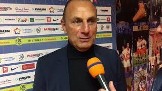 VIDEO: La réaction du coach après la victoire face à Amiens ? #MHSCASC