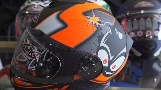 SMK TWISTER Helmet Unboxing || PIN Lock || ECE certified || Best Buy Under 5K ||