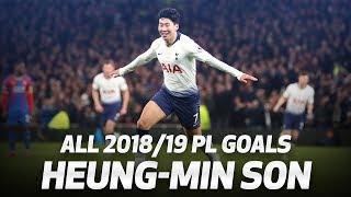 All of Heung-min Son's 2018/19 Premier League goals