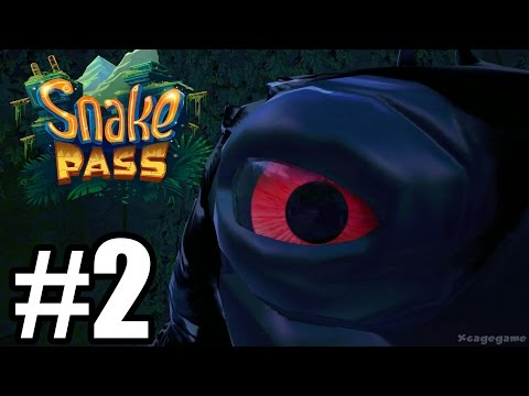 Snake Pass Gameplay Walkthrough Part 2 - World 2