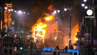 أحداثُ شغبٍ عنيفة تهز العاصمة...