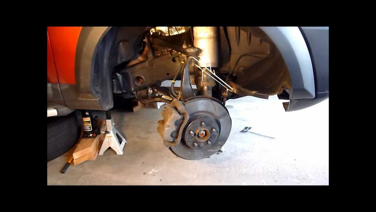 Discovery Lr3 Depressurize Air Springs Youtube
