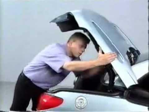 Emergency Shut Off Roof Peugeot 206cc Youtube