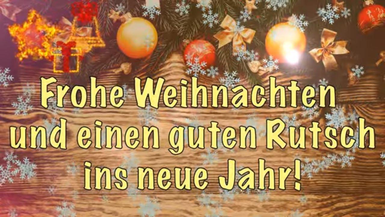 weihnachtsw nsche video frohe weihnachten und einen guten rutsch ins neue jahr whatsapp