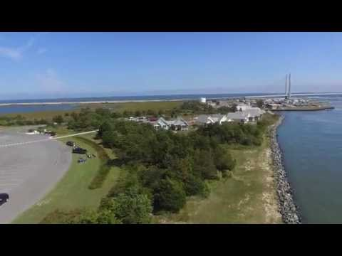 Indian River Marina - Drone video