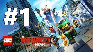 LEGO NINJAGO Movie Video Game Story Mode Gameplay Walkthrough Part 1 FULL GAME PS4 - No Commentary