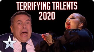2020's most TERRIFYING talents! | BGT 2020