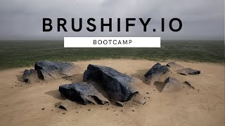 Brushify: Bootcamp - Runtime Virtual Texturing (RVT) for Landscapes, Object Blending and Roads (UE4)