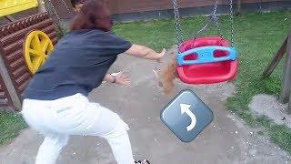 Harmony Salıncaktan Düştü! Köpeğimize Kavuştuk Parka Götürdük! Bidünya Oyuncak 🦄