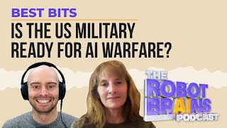 Missy Cummings talks about advising the US Military on the future of AI warfare | Best Bits