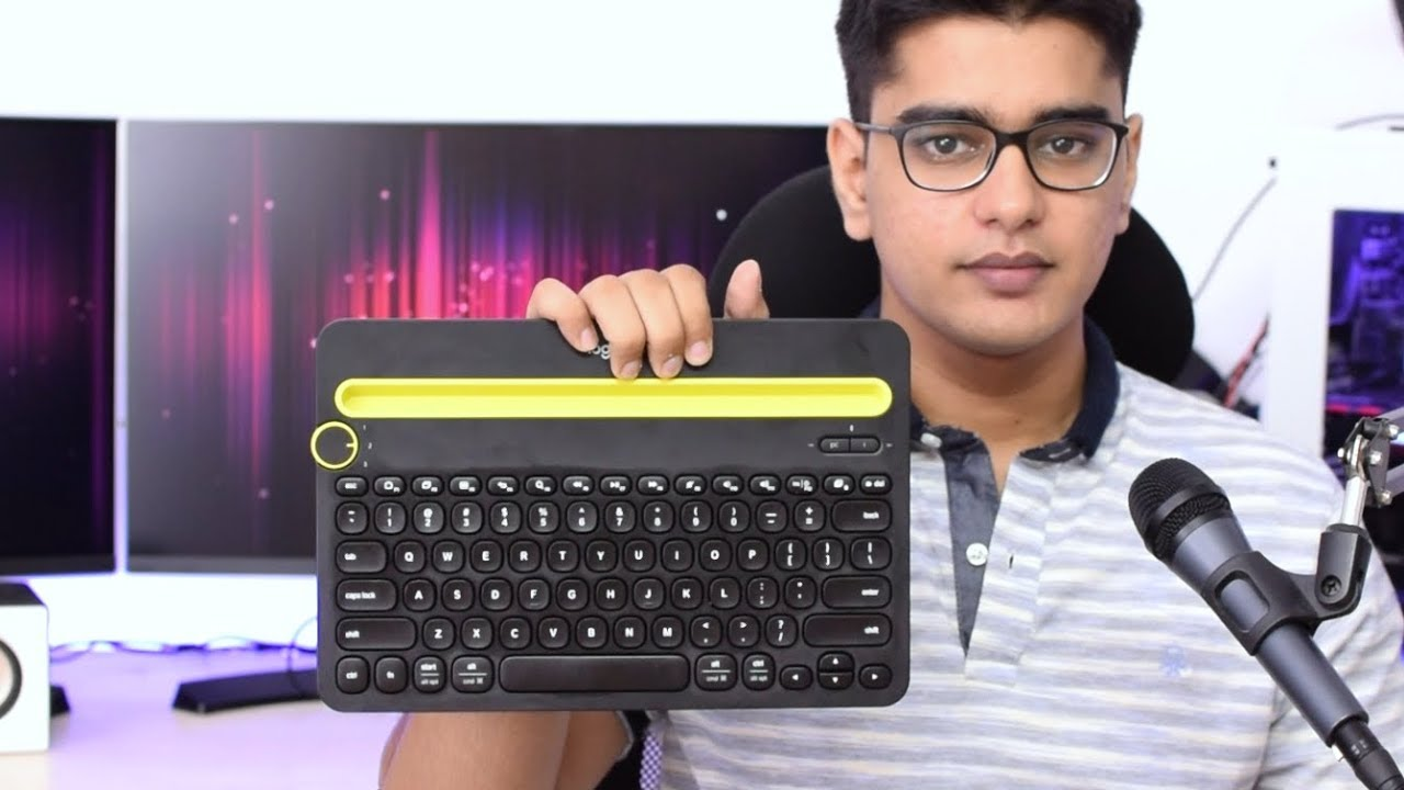 Logitech K480 Bluetooth Multi-Device Keyboard Review!