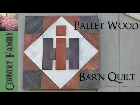 Pallet Wood Barn Quilt (International Harvester)