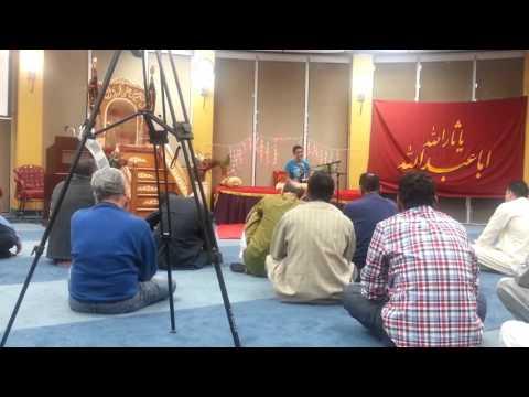 Zameen e nabi ki Zamana nabi ka by Syed Kumail Abbas