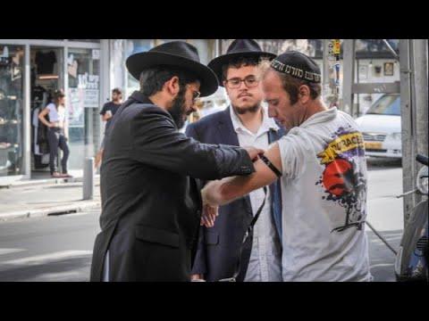 """הרב יונתן בן משה - במתקפה חריפה נגד עיריית ת""""א לגבי דוכני התפילין -כאשר יענו אותו כן ירבה וכן יפרוץ"""""""