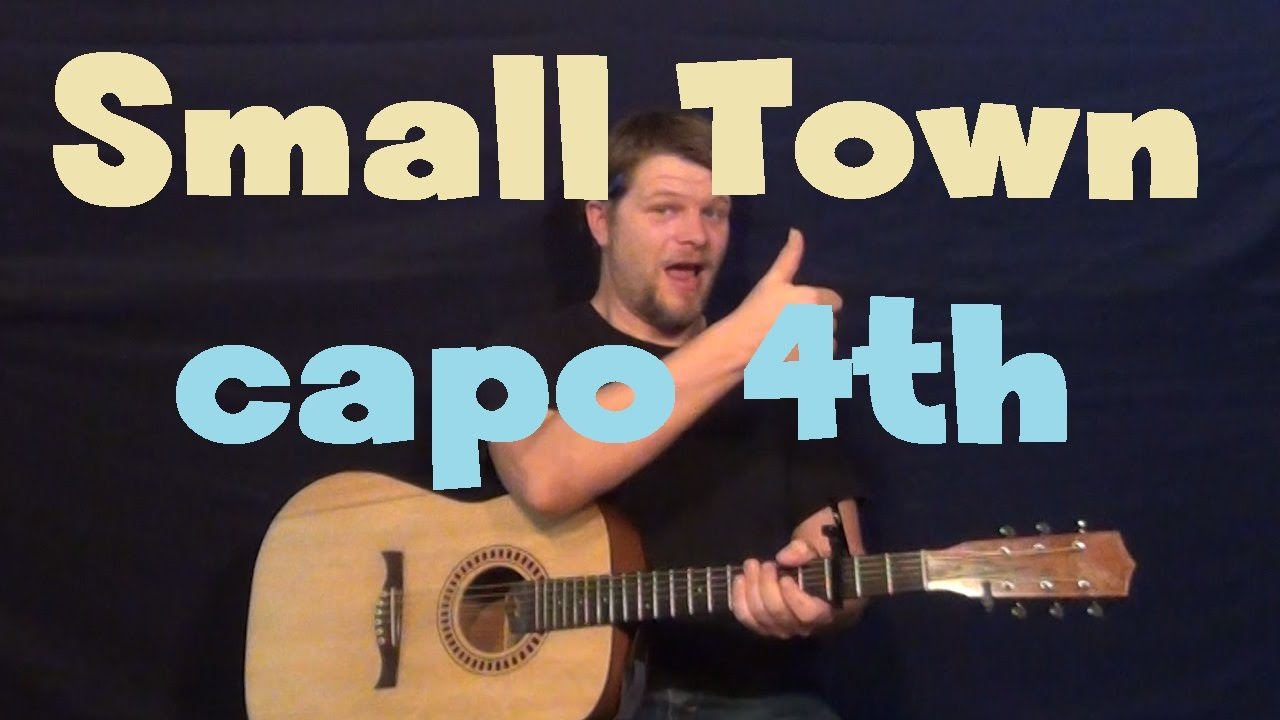 Small Town John Mellencamp Easy Guitar Lesson How To Play Tutorial