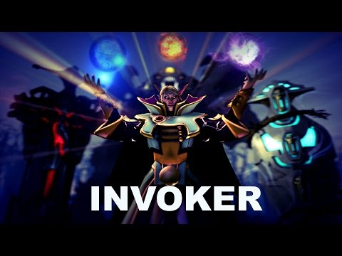 Dota 2 GAMER plays Invoker