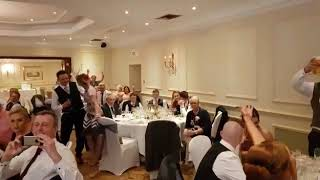 Lee Holland - Chesterfield Singer singing waiters Perfect- Ed Sheeran Cover Wedding Request