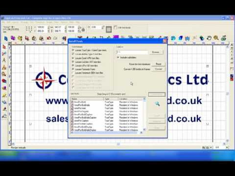 Cadlink Signlab Install Fonts and Fonts Folders.mp4