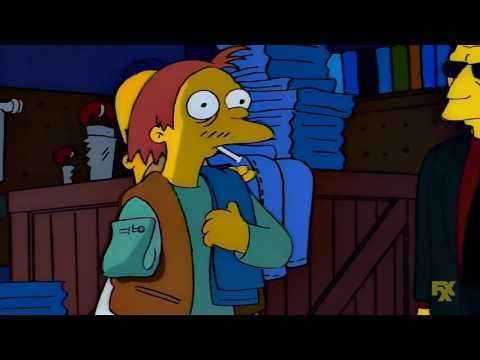 -No tan rápido -¿Te parece así? - Los Simpson Latino