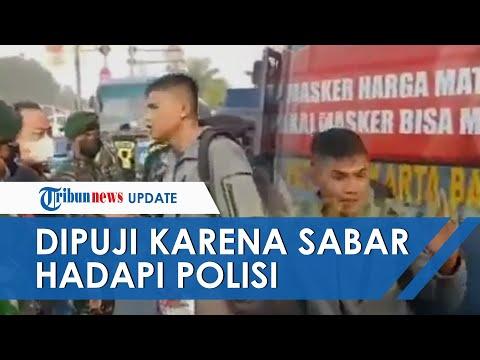SOSOK Anggota Paspampres Praka Izroi Trending Twitter, Dapat Pujian karena Kesabaran Hadapi Polisi