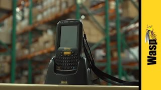mobile computer barcode scanner for inventory control dt60   wasp barcode