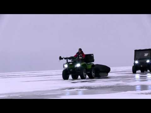 Garmin EchoMAP CHIRP: Navigate To Ice Fishing Hot Spots