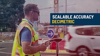 Spectra Geospatial SP20 handheld GNSS receiver Overview