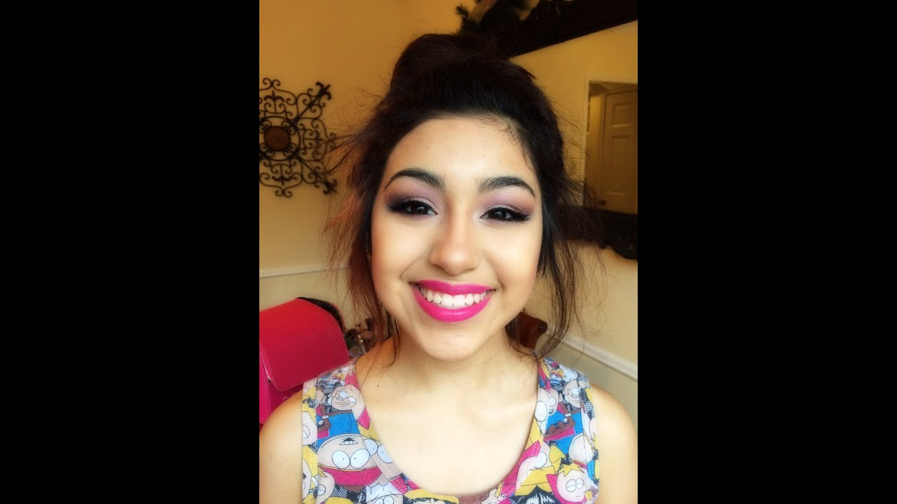 Youtube Makeup Tutorials Popular: Quinceañera Edition Sweet 15 Makeup Tutorial