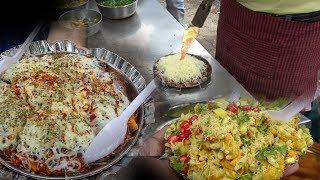 FIRE Sev Puri With | Ice Bhel Great Street Food Mumbai