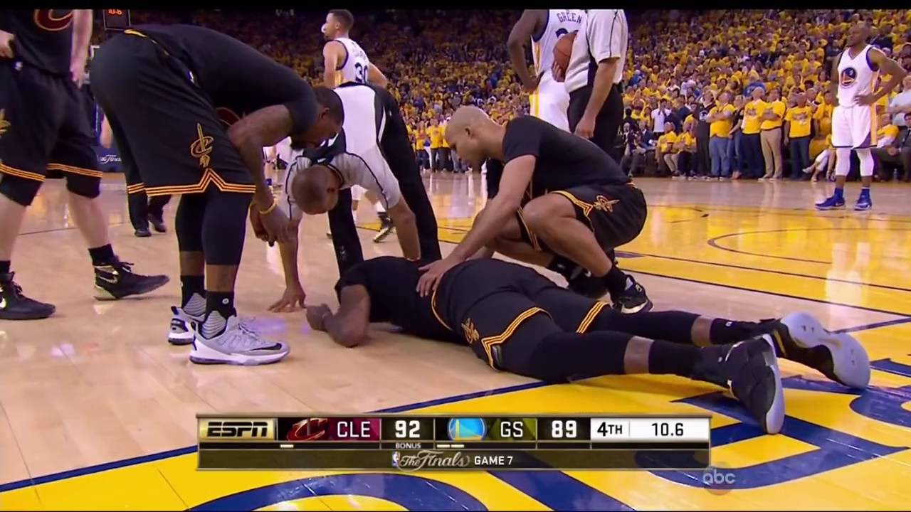 Last Minute Of The 2016 Nba Finals Game 7 Youtube