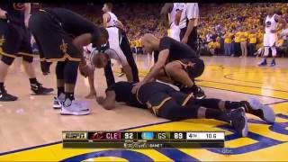 Last minute of the 2016 nba finals game 7